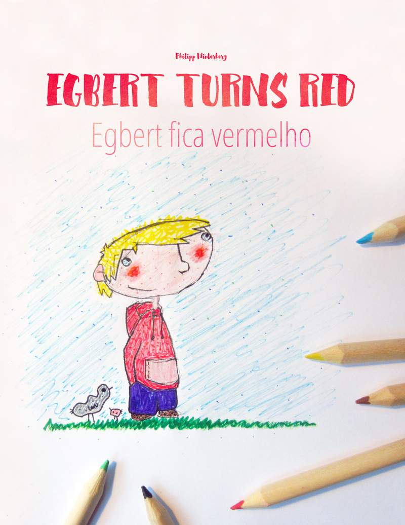 Egbert fica vermelho